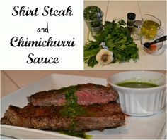 Paleo Skirt Steak and Chimichurri Sauce. This is so easy and delicious! A must try!