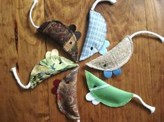 homemade cat toys with catnip inside.......no pattern just the item to purchase