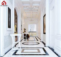 Luxury Interior Design Ho Chi Minh City, Vietnam. Designed by Gil Design.