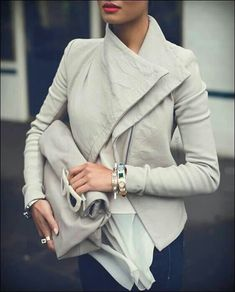 Collar, color, and texture - and its long sleeved! Perfection!