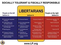 This graphic is so simple in the way it shows what libertarians believe, that's what makes it so perfect.