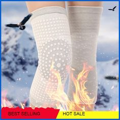 Elastic Knee Tourmaline Self Heating Support Brace Kneepad Volleyball Adjustable Knee Pads Basketball Safety Guard Strap