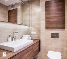 Aranżacje wnętrz - Łazienka: Olimpia Port - realizacja - Średnia łazienka w bloku bez okna, styl nowoczesny - ESSA Architektura. Przeglądaj, dodawaj i zapisuj najlepsze zdjęcia, pomysły i inspiracje designerskie. W bazie mamy już prawie milion fotografii!