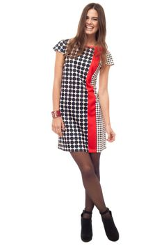 Twiggy #Retro Shift #Dress - If you're brave and love patterns.