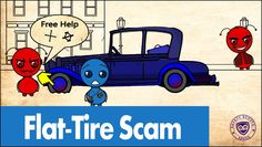 Flat Tire Scam - Safety Scouts Advice - Episode 36 [HD,4K]
