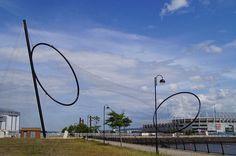 Temenos Sculpture, in Middlesbrough, near Boro Riverside Stadium. #Teesside #NorthEast via Wikipedia.org