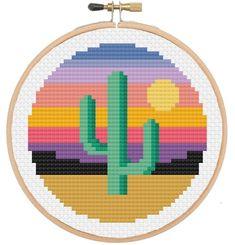 Brilliant Cross Stitch Embroidery Tips Ideas. Mesmerizing Cross Stitch Embroidery Tips Ideas. Cactus Cross Stitch, Cute Cross Stitch, Cross Stitch Borders, Modern Cross Stitch, Cross Stitch Designs, Cross Stitching, Cross Stitch Embroidery, Embroidery Patterns, Cross Stitch Beginner