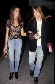 Stephanie Seymour and Axl Rose More