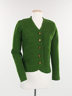 Sweater    Elsa Schiaparelli, 1938    The Metropolitan Museum of Art