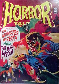 Cover for Horror Tales (Eerie Publications, 1969 series) #v5#5