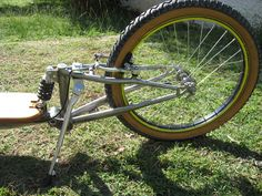 Footbike suspension