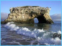 Natural Bridges State Park - to enjoy nature and take some marine photos