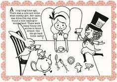 Shinzi Katoh Go Ask Alice, Japanese Artists, Long Time Ago, Cute Illustration, Alice In Wonderland, Embroidery Patterns, Retro Vintage, Kawaii, Illustrations