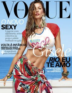 Gisele Bündchen, Vogue Magazine [Brazil] (November 2016)