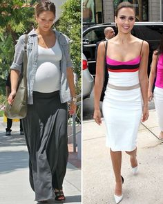 Celebrity weight loss tips for new moms