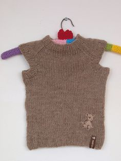 Ravelry: Project Gallery for toddler t-shirt vest pattern by sam lamb