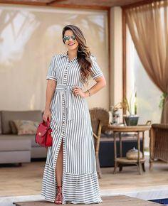 ¿y tu, ya compraste? Modest Fashion, Hijab Fashion, Fashion Dresses, Modest Dresses, Casual Dresses, Summer Dresses, Kurti Designs Party Wear, Cotton Dresses, African Fashion