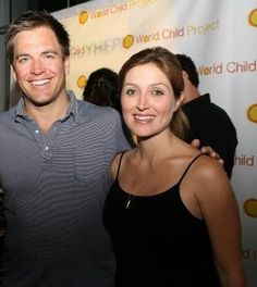 Michael Weatherly images Michael and Sasha Alexander wallpaper and ...