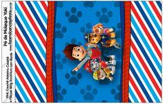 Rótulo Pé de Moleque Yoki Kit Patrulha Canina--- https://fazendoanossafesta.com.br/2015/05/patrulha-canina-kit-festa-infantil.html/