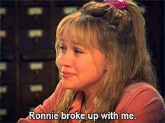 And her first heartbreak.   The 22 Most Memorable Things That Happened To Lizzie McGuire