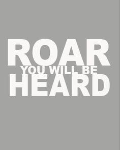 """""""ROAR!!!"""" - Lion"""