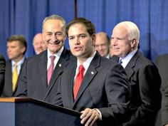 Marco Rubio Tries to Sell Gang of Eight Talking Points to New Hampshire Voters. Rubio