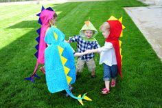 Dino Cape with Hood Dinosaur Costume By MaukyJo by MaukyJo