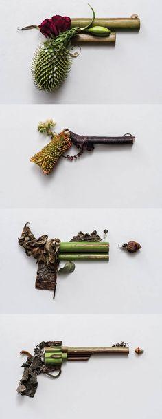 « Harm Less » : Des Végétaux Contre Les Armes