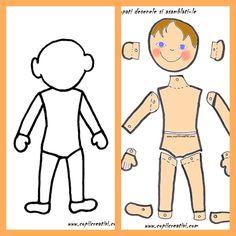 La gradinita- saptamana in care am invatat despre corpul nostru
