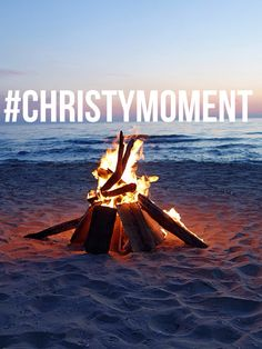 A bonfire with forever friends. Can you hear Todd playing the guitar? I can. #ChristyMiller #ForeverFriends #Christymoment #RobinJonesGunn