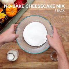 Pumpkin No-Bake Cheesecake 4 Ways Check out this recipe and more holiday entertaining inspiration: http://bzfd.it/2j59k98