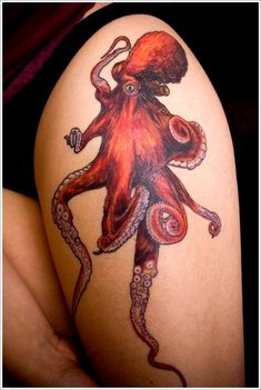 Really cool Octopus