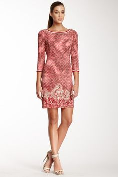 Max Studio Print Shift Dress by Assorted on @HauteLook