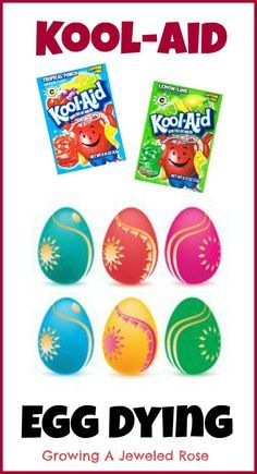 Add a fun twist to egg dying this year with Kool-aid
