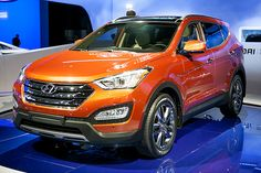 Hyundai Santa Fe Sport Which Has a Four-Cylinder Engine With a Six-Speed Automatic Transmission System