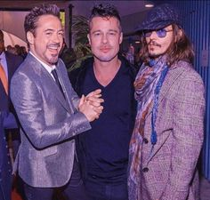 Johnny Depp and friends
