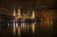 """500px / Photo """"Zaragoza by night"""" by Filippo Bianchi"""