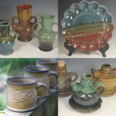 Looking for a gift of pottery in 2016? www.amymansonpottery.etsy.com