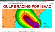 Isaac is going to penetrate hard, down under USA