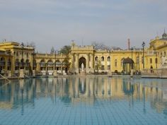 The bath is a beautiful example of a Turkish bath complete with beautiful architecture and a HUGE pool.