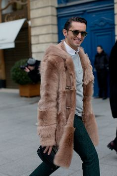 I do not know who this gentleman is, but he has a lot going for him.  Most notably the #fur... www.williamhharrisfurs.com