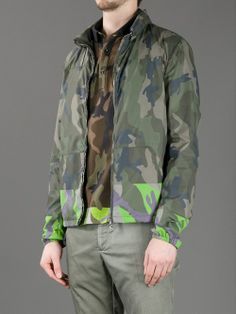 Men - Valentino Camouflage Jacket - L'Eclaireur Shop