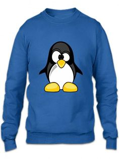 penguin animal rights funny Crewneck Sweatshirt