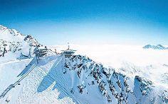 Obergurgl, Austria. Yet more beautiful skiing locations
