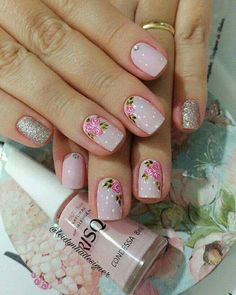 Lomejor Crazy Nails, Love Nails, Do It Yourself Nails, Stamping Nail Art, Boxing Day, Cute Nail Art, Trendy Nails, Manicure And Pedicure, Spring Nails