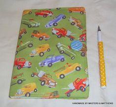 Notebook A5 Hardback Journal Truck Fabric by Mastersandmatthews