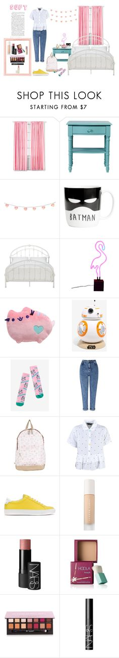 """""""Soft"""" by silly-stegosaurus ❤ liked on Polyvore featuring Ladybird, Inspire Q, Pusheen, Hot Topic, Miss Selfridge, Lazy Oaf, Givenchy, Puma, NARS Cosmetics and Benefit"""