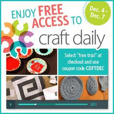 29 best deal reveal images on pinterest hand knitting hand 4 7 free access to craft daily unlimited craft videos fandeluxe Image collections