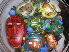 Very useful best out of waste idea on how to covert pebbles into beautiful art pieces.