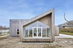 Biological House | Architect Magazine | Een Til Een, Middelfart, Denmark, Single Family, New Construction, Residential Projects, Technology, Green Technology, Solar Cells, Solar Power, Affordable Housing, Energy Efficiency, Energy-Efficient Design, Energy-Efficient Construction, Alternative Materials, Sustainable Materials, Sustainability, Architects, Architecture, Climate Change, Renewable Energy, Renewable Materials, Kebony